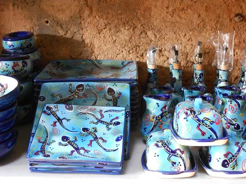 cerámica de lenguas mallorca, macetas de barro, decoración cerámica