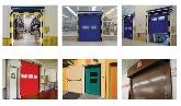 instalación de puertas enrollables rapidas
