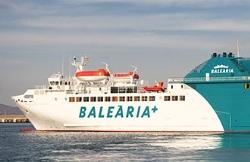 Baleària realiza acciones para solucionar las molestias acústicas del buque 'Passió per Formentera'