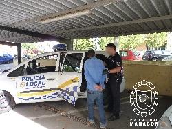 Detenido un tironero  en Manacor