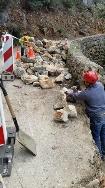 Abierta al tráfico la carretera del Puerto de Valldemossa que se cerró por un desprendimiento de rocas