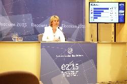 EleccionsIB2015 Últimos datos del escrutinio electoral