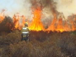 Hoy 1 de mayo, se inicia oficialmente la época de peligro de incendios forestales