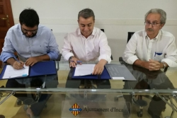 ABAQUA y el Ayuntamiento de Inca firman un Convenio de suministro de agua potable en caso de avería