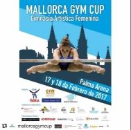 Mallorca Gym Cup celebra, en el Palma Arena, la primera edición de la competición de gimnasia artística con carácter internacional