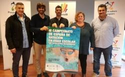 Cerca de 300 nadadores participan este fin de semana en el Campeonato de España de Natación en Edad Escolar en Son Hugo