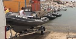 Diez embarcaciones para proteger la posidonia