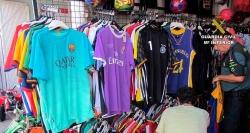 La Guardia Civil interviene 2295 efectos falsificados, la mayoría prendas deportivas