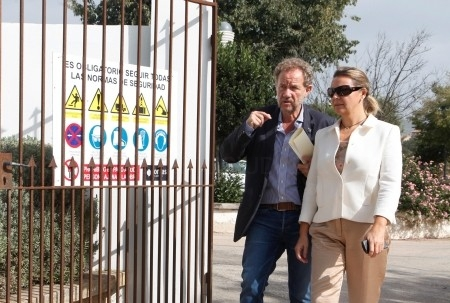 La presidenta María Salom visita el municipio de Felanitx, donde el Consell de Mallorca ha destinado este año cerca de medio millón de euros