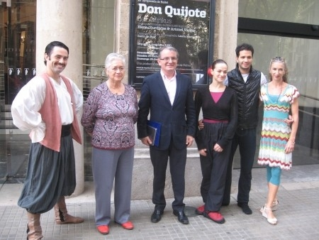 'Don Quijote' inaugura la III Temporada de Ballet en el Teatro Principal, con la actuación de dos de los componentes del English National Ballet