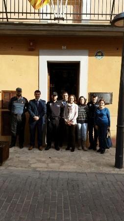 Santa Eugenia cuenta con el servicio de Policía Tutor