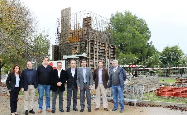 El conseller Gabriel Company ha visitado las obras de renovación de la red de saneamiento de la Playa de Muro