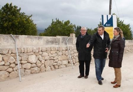 El Consell de Mallorca ha invertido en Binissalem 317.300 euros a lo largo del año 2014