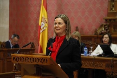 María Salom destaca el último Debate de Política General de la legislatura que el Consell hoy está rehabilitado económicamente y libre de corrupción