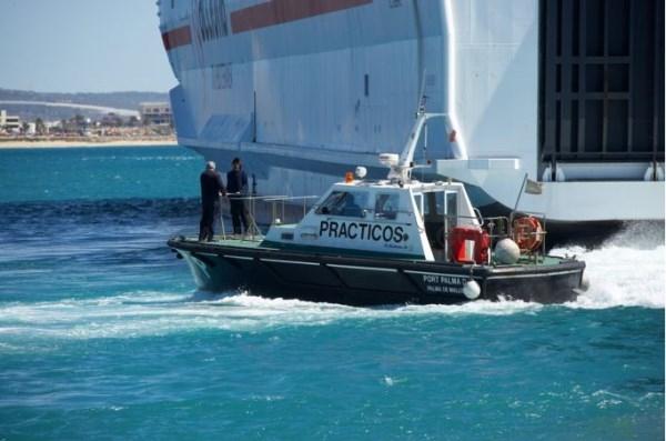 Los Prácticos del puerto de Palma, primeros en España en obtener una certificación internacional de seguridad