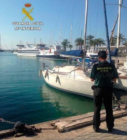 Recuperan una embarcación sustraída en el Puerto de Palma y detiene al presunto autor