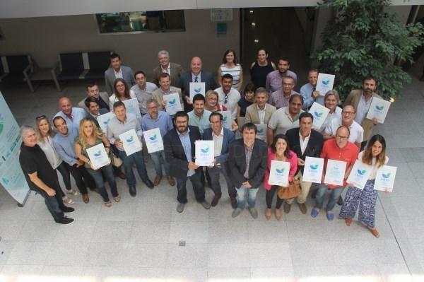Veintiuna entidades comprometidas con el medio ambiente renuevan o adquieren los distintivos ambientales europeos