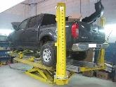 Talleres mecánicos para automóviles, Talleres de chapa y pintura