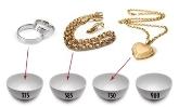 anillos, cadenas, medallas, colgantes