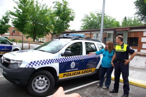 Azuqueca de henares entra en servicio un nuevo coche for Portal de servicios internos policia