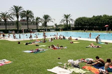 ya est abierta la piscina municipal del escorxador