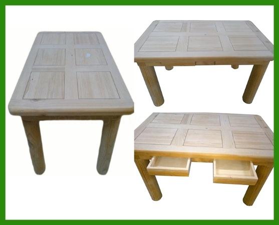 Muebles en crudo La Granja