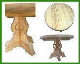 sillas, muebles baño rustico