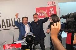 El PSOE de Fernández Vara gana las elecciones en Extremadura