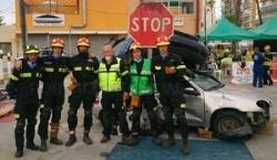El CPEI de Badajoz se clasifica en los primeros puestos en el Campeonato de Rescate en Accidentes de Tráfico