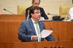 Fernández Vara propone convertir Extremadura en un referente mundial de economía verde ciudadana