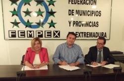 Las Diputaciones y la FEMPEX dispondrán de una delegación de Asuntos Europeos en Bruselas