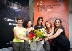 Cultura elogia los 30 años de experiencia de Suripanta, que estrena 'Los Pelópidas' en el Festival de Mérida