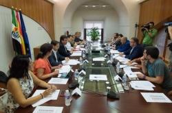 Fernández Vara preside la reunión del Consejo de la Capitalidad de Mérida
