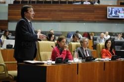 Fernández Vara indica que la web Extremadura Cumple es una herramienta que permite realizar un seguimiento de la acción de gobierno