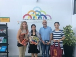 La UEx recibe la visita de profesoras chinas del Instituo Jin Ling de la Universidad de Nanjing.
