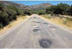 Esta semana comienzan las obras de rehabilitación de cinco carreteras con un presupuesto de más de un millón de euros.