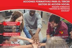 La Diputación convoca los cursos formativos GESTIÓN DE PROYECTOS SOCIALES