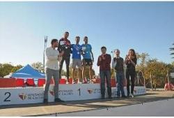 El torrejoncillano Mirabel y la sanvicenteña Carretero, ganadores del XXXIV Trofeo Diputación de Cáceres Campo a Través.