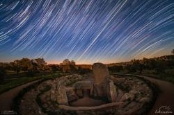 La NASA selecciona una fotografía del dolmen de Lácara como 'Imagen Astronómica del Día'.