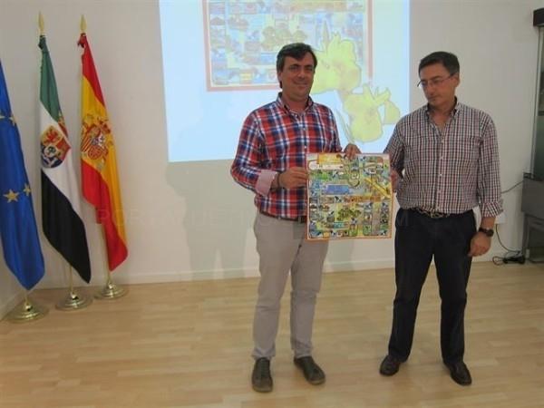 Diputación de Cáceres promociona a través de un juego de mesa los valores y recursos del Tajo Internacional