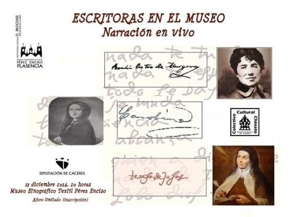 El Museo 'Pérez Enciso' de Plasencia rinde homenaje al papel de la mujer en la historia de la literatura