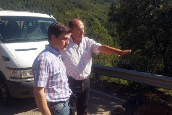 Comienzan las obras de la carretera CC-166 a Las Mestas sin cortar el tráfico