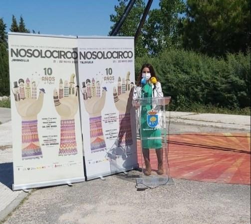 La consejera de Cultura reafirma el compromiso de la Junta de Extremadura con el mundo del circo en la región