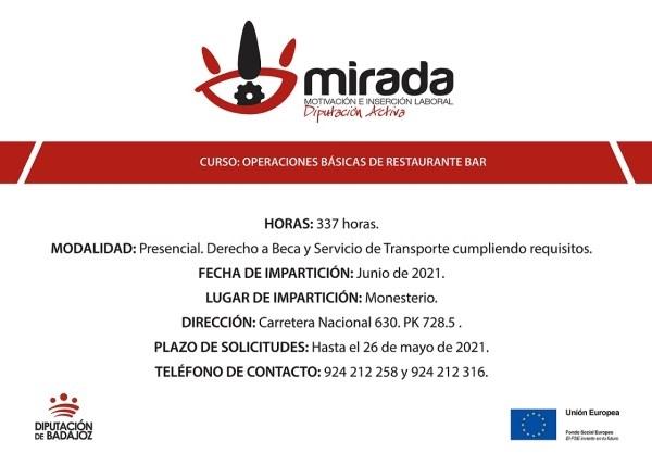La Diputación de Badajoz iniciará una acción formativa de