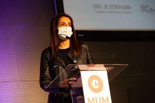 La consejera de Cultura señala la importancia de las jornadas MUM para impulsar y promocionar la música extremeña
