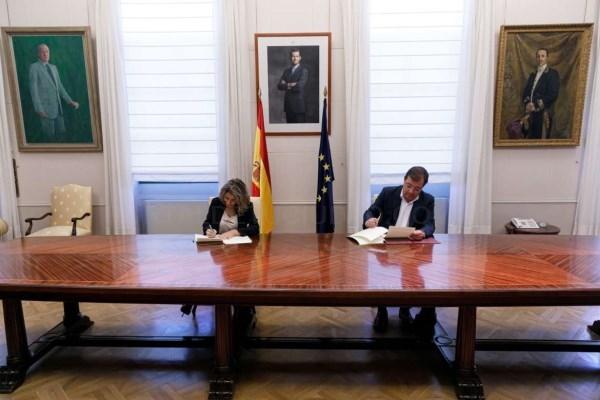 Rubricado el acuerdo de cesión a la Junta de Extremadura de la Avenida Martín Palomino y la Avenida España de Plasencia