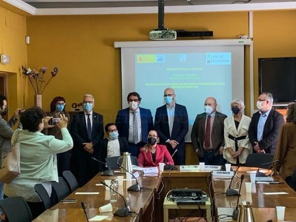 La Junta presenta en el Ministerio de Derechos Sociales la campaña de accesibilidad universal que da voz a las personas con discapacidad