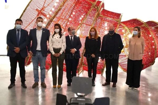 La consejera Nuria Flores y el ministro de Cultura, Miquel Iceta, visitan el Museo Helga de Alvear