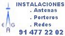 Instalación y mantenimiento de antenas y porteros