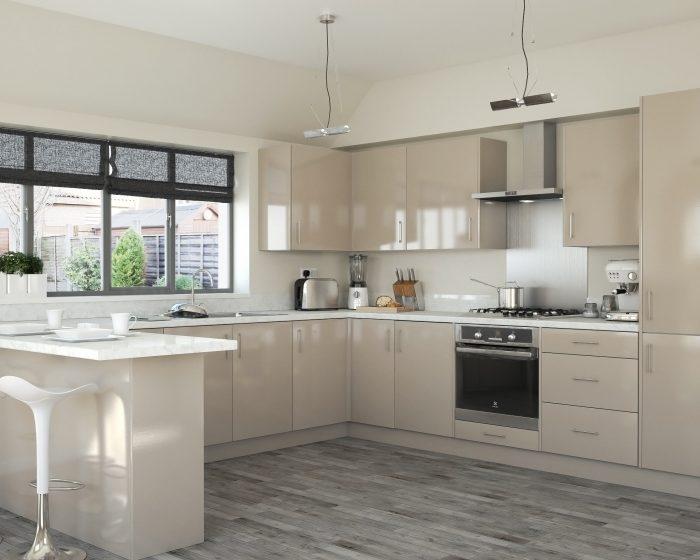 Light Grey Kitchen With Range Ideas